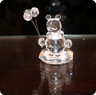 bear holding baloon on stand 71/359/201/1